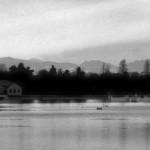 Ferril Lake on a still morning.