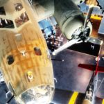 """My Gal Sal,"" the meticulously restored B-17 and highlight of the Freedom Pavilion at the National WWII Museum."