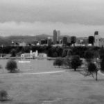 My neighborhood and downtown beyond, from DNMS.